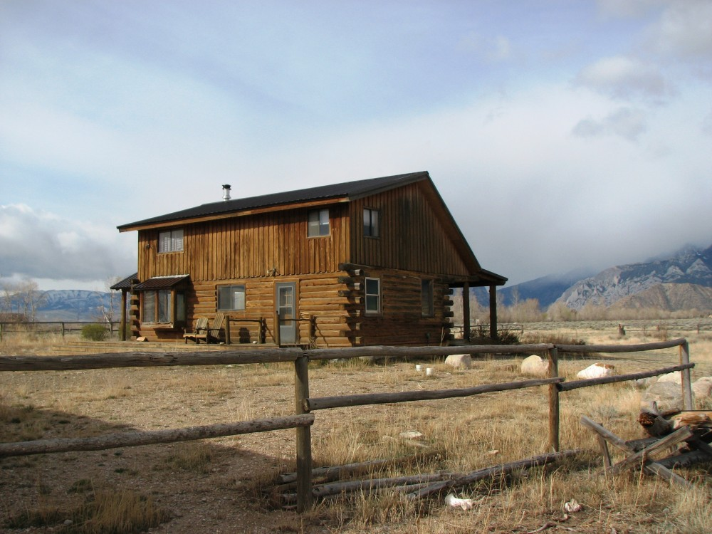Sold Wyoming Log Home Clark Wyoming Residential With